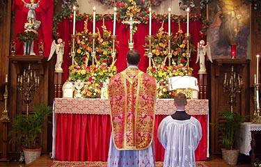 Introibo ad altare Dei.