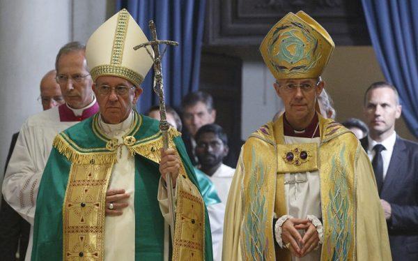 Bergoglio é também Anglicano