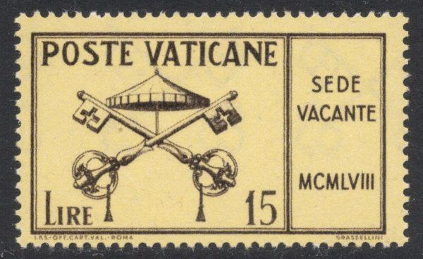 Sede Vacante 1958